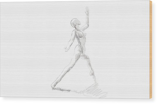 first Dance Wood Print