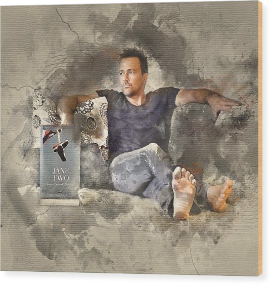 Flanery With Jane Two Wood Print