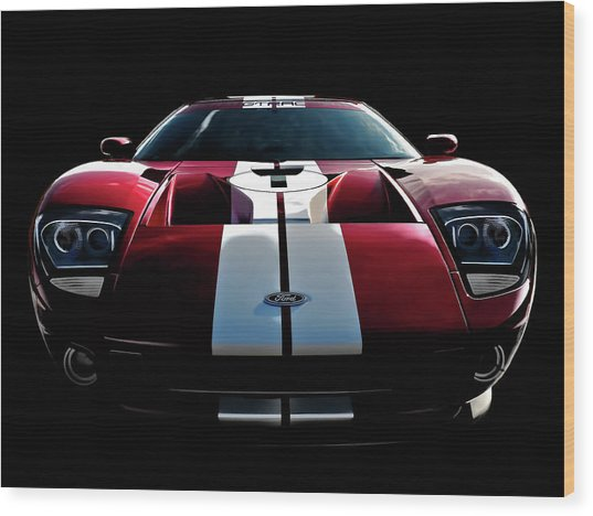 Ford Gt Wood Print