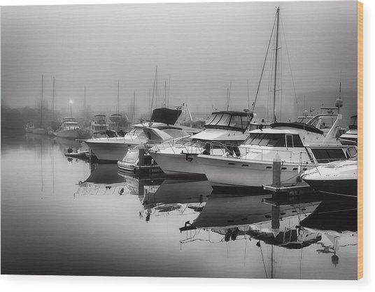 Foss Fog Wood Print