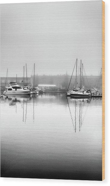 Foss Reflections Wood Print