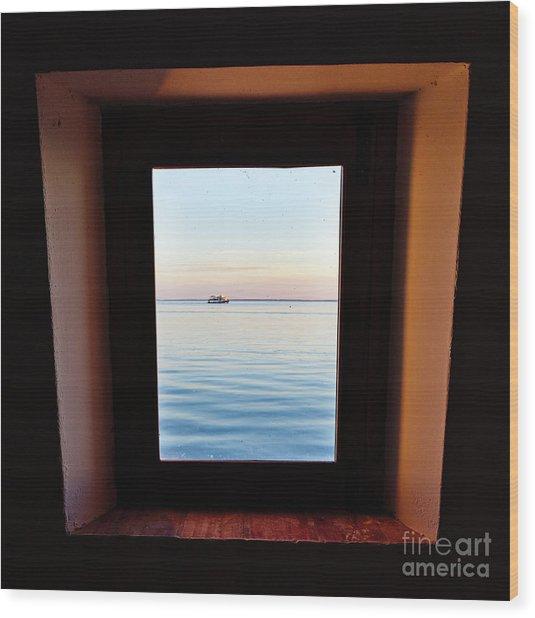 Framing The Frame Wood Print