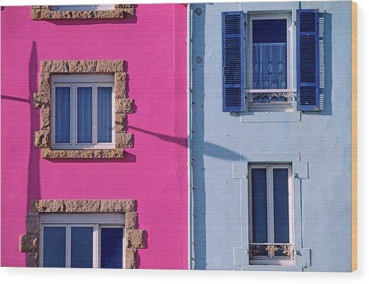 France, Finistere, Morgat, Crozon Wood Print by Gardel Bertrand / Hemis.fr