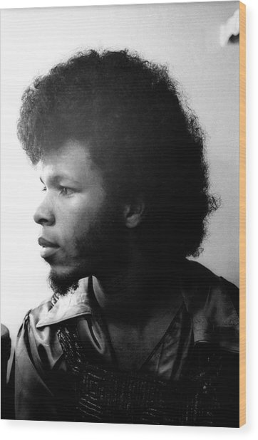 Freddie Stone Portrait Session Wood Print