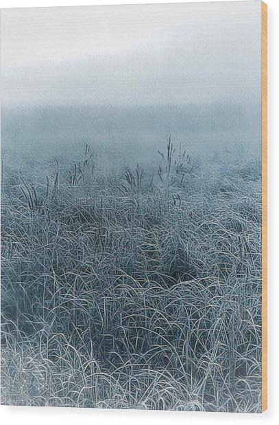 Frigid Morn Wood Print