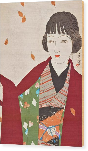 Fujo Yodai, Autumn Wood Print