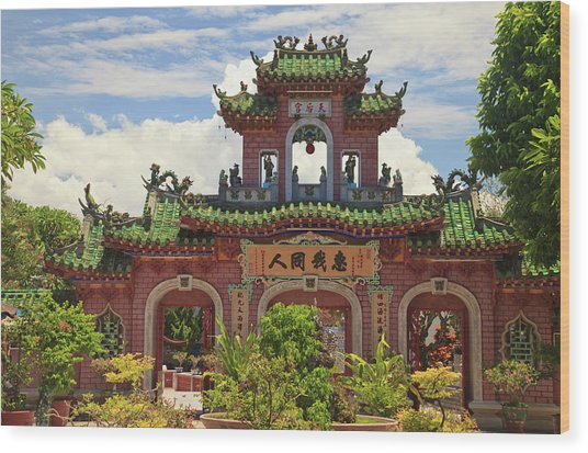 Fukian Assembly Hall, Hoian, Nha Trung Wood Print