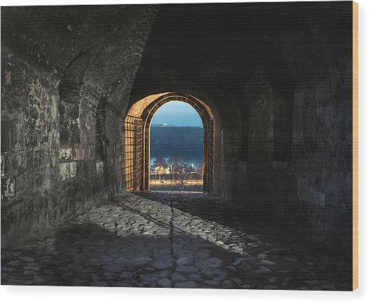 Gate At Kalemegdan Fortress, Belgrade Wood Print