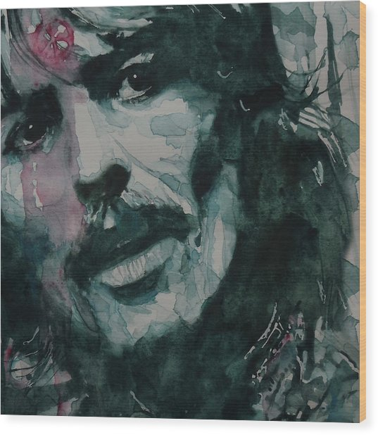 George Harrison - All Things Must Pass Wood Print