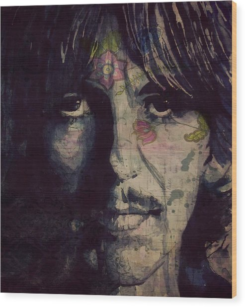 George Harrison - If Not For You  Wood Print