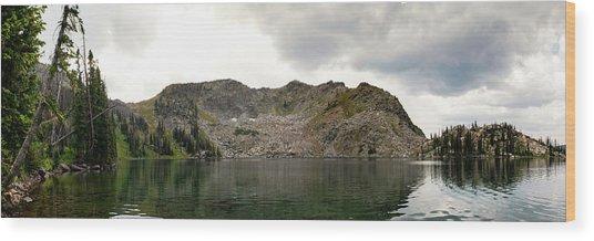Gilpin Lake Wood Print