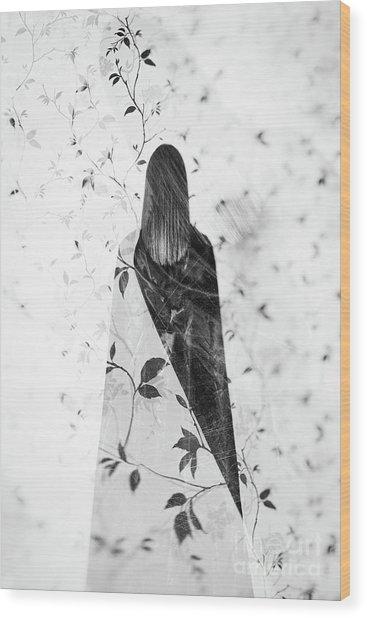 Girl #0571 Wood Print