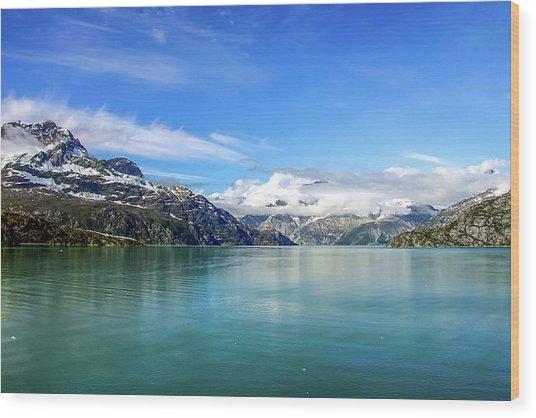 Glacier Bay 1 Wood Print