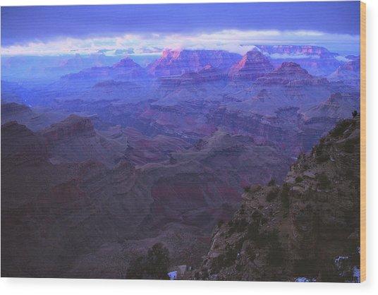 Grand Canyon Twilight Wood Print