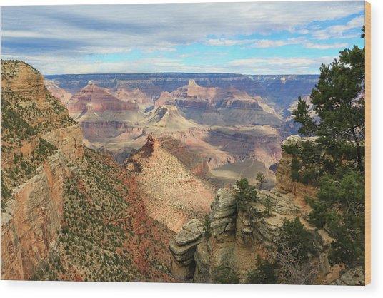 Grand Canyon View 3 Wood Print