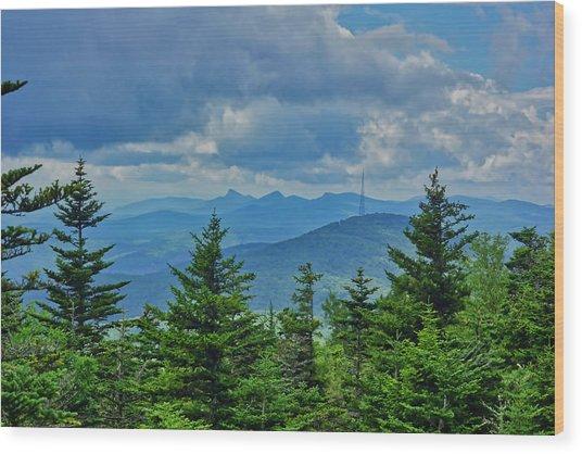 Grandmother Mountain Wood Print