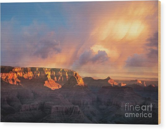 Wood Print featuring the photograph Grandview Point 1 by Scott Kemper