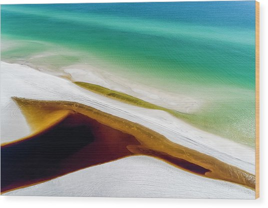 Grayton Colors 1 Wood Print