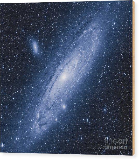 Great Andromeda Galaxy Wood Print