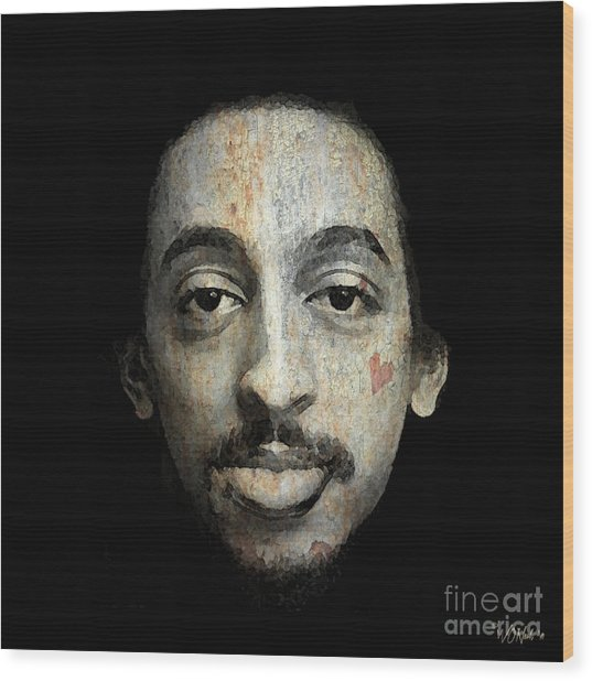Gregory Hines Wood Print