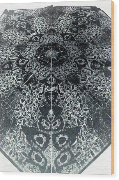 Grillo Inverse Wood Print