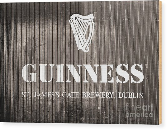 Guinness St. James Gate Brewery Dublin Wood Print
