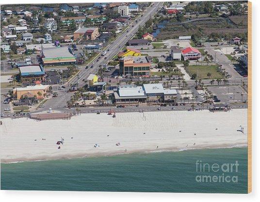 Gulf Shores Beach 7139 Wood Print