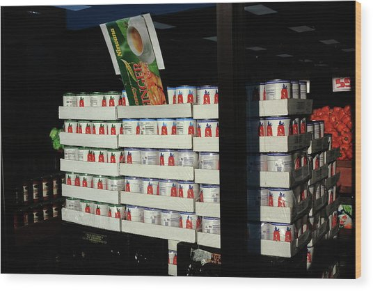 Hackensack, Nj - Tomatoes In Cans 2018 Wood Print