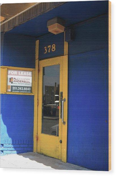 Hackensack, Nj -  Yellow Door 2018 Wood Print