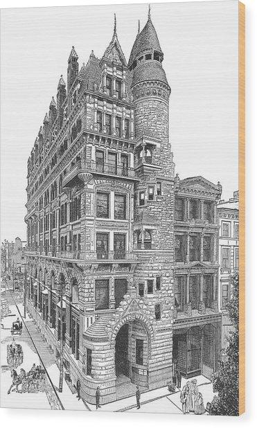 Hale Building Wood Print