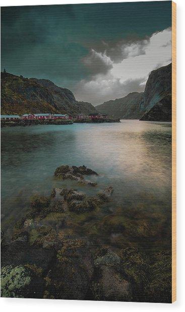 Hamnoy, Lofoten Islands Wood Print