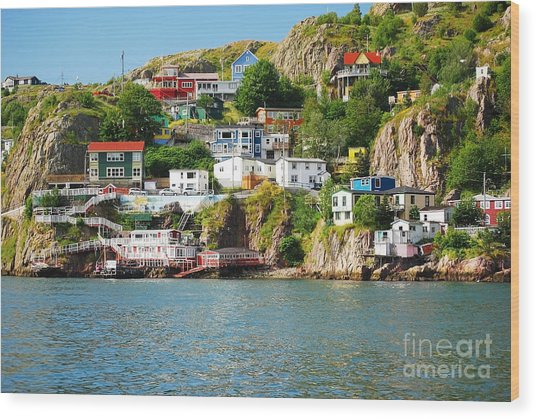 Harbour Front Village In St. Johns Wood Print