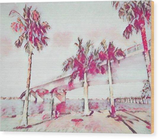 Harts Landing Sarasota Wood Print