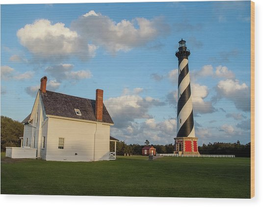 Hatteras Lighthouse No. 2 Wood Print