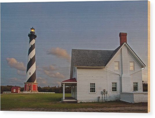 Hatteras Lighthouse No. 3 Wood Print