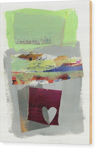 Heart #30 Wood Print