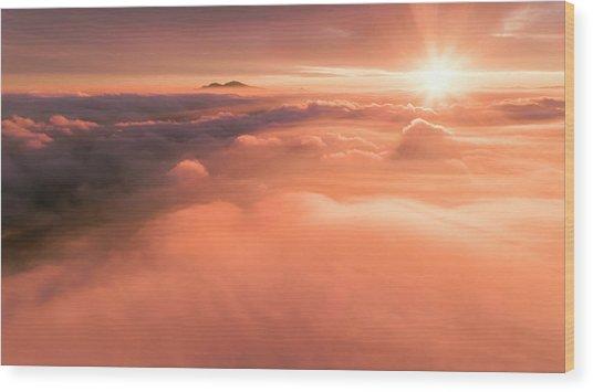 Heavenly Diablo Wood Print by Vincent James