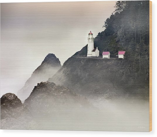 Heceta Head Lighthouse Wood Print