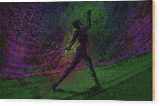 Hidden Dance Wood Print