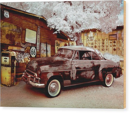 Highsmith Old Car Wood Print