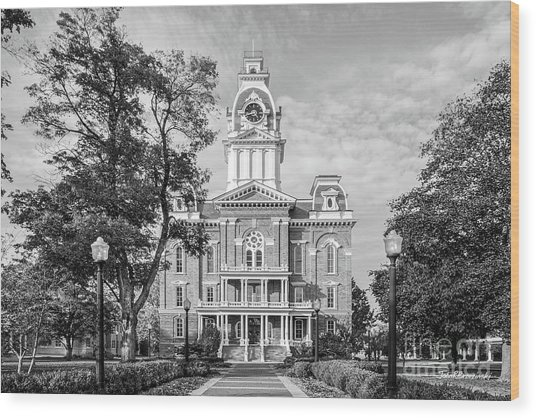 Hillsdale College Central Hall Wood Print