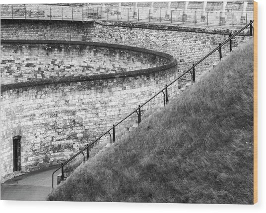 Lincoln Castle Wood Print