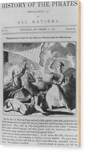 History Of Pirates Wood Print by Fotosearch