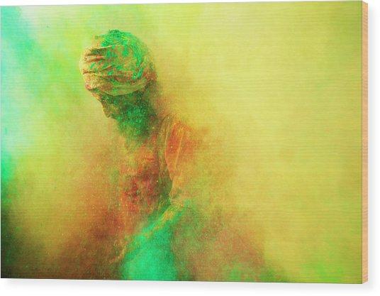 Holi, Festival Of Colors, India Wood Print