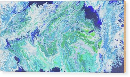 Ho'okipa Beach Wood Print