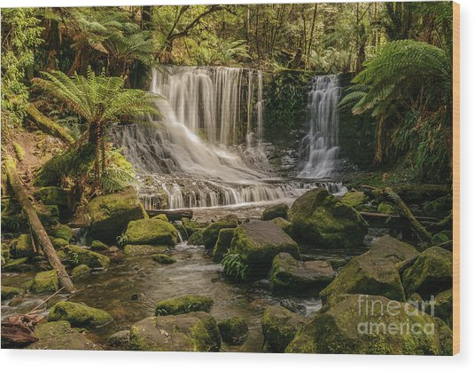 Horseshoe Falls 01 Wood Print