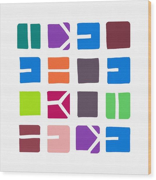 Idel... Colour Wood Print