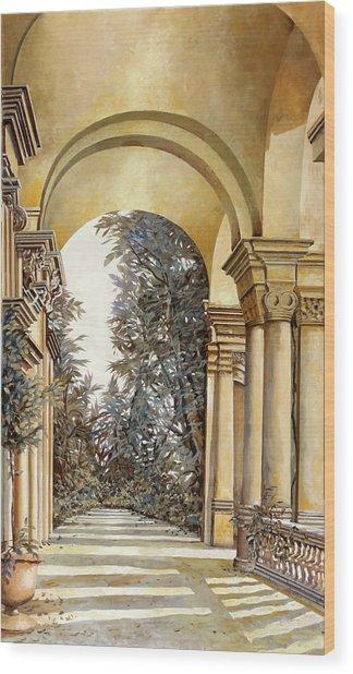 Il Bosco Dopo Le Arcate Wood Print