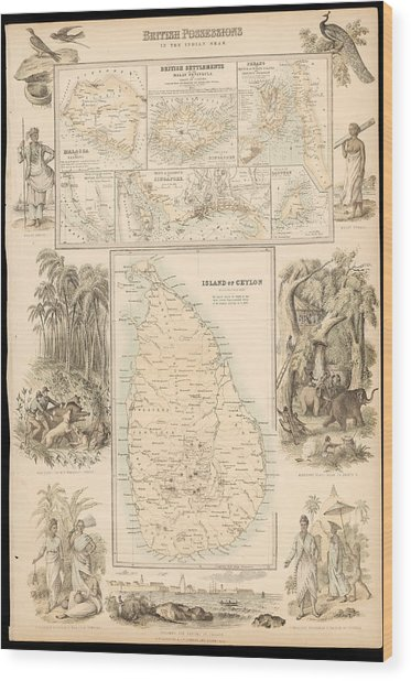 Imperial Possessions Wood Print by Hulton Archive