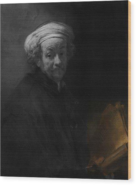 Inv Blend 22 Rembrandt Wood Print